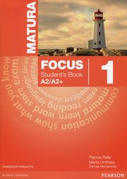 Matura Focus 1 Students Book + CD Podręcznik wieloletni, Kay Sue, Jones Vaughan, Braysh