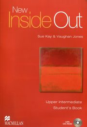 New Inside Out Upper Intermediate Student's Book + CD, Kay Sue, Jones Vaughan